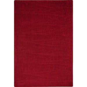 Joy Carpets Kid Essentials Endurance Burgundy Area Rug