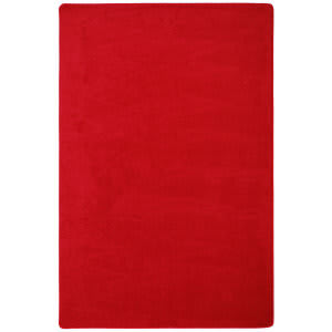 Joy Carpets Kid Essentials Endurance Red Area Rug