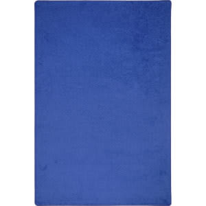 Joy Carpets Kid Essentials Endurance Royal Blue Area Rug