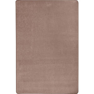 Joy Carpets Kid Essentials Endurance Taupe Area Rug