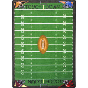 Joy Carpets Games People Play Football Fun Multi Area Rug