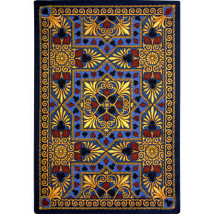 Joy Carpets Games People Play Jackpot Navy Area Rug