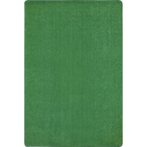 Joy Carpets Kid Essentials Just Kidding Grass Green Area Rug