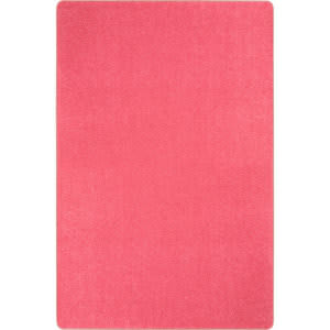 Joy Carpets Kid Essentials Just Kidding Hot Pink Area Rug
