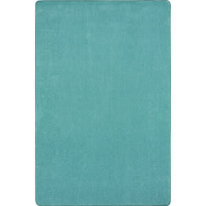 Joy Carpets Kid Essentials Just Kidding Seafoam Area Rug