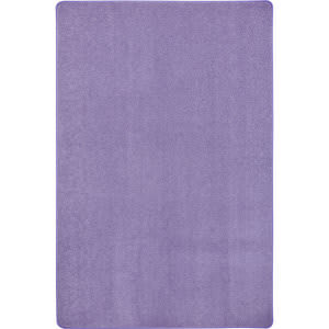 Joy Carpets Kid Essentials Just Kidding Very Violet Area Rug