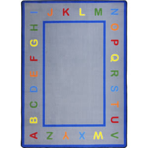 Joy Carpets Kid Essentials Learn Your Letters Multi Area Rug
