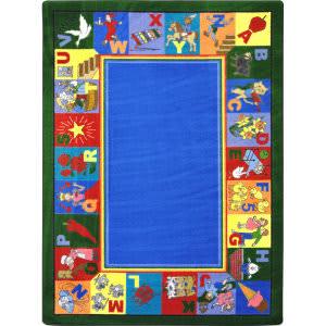 Joy Carpets Kid Essentials My Favorite Rhymes Multi Area Rug