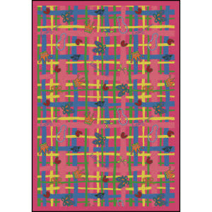 Joy Carpets Playful Patterns My Little Princess Pink Area Rug