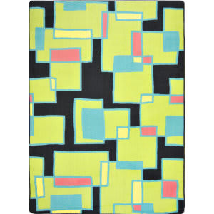 Joy Carpets Kid Essentials Outside The Box Tropical Area Rug