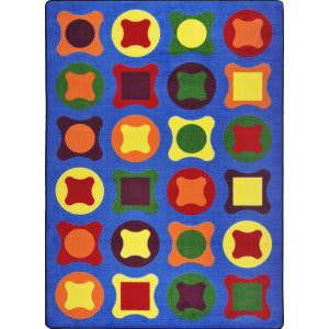 Joy Carpets Kid Essentials Perfect Fit Multi Area Rug