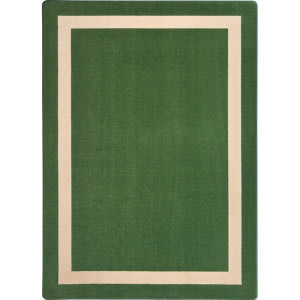 Joy Carpets Kid Essentials Portrait Greenfield Area Rug