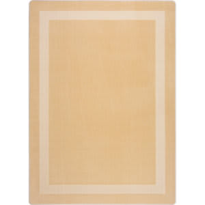Joy Carpets Kid Essentials Portrait Sandstone Area Rug