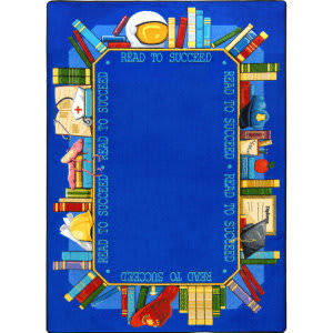 Joy Carpets Kid Essentials Read To Succeed Multi Area Rug