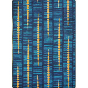 Joy Carpets Kid Essentials Recoil Blue Area Rug