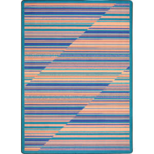 Joy Carpets Kid Essentials Rhythm Water Area Rug