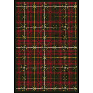 Joy Carpets Games People Play Saint Andrews Tartan Green Area Rug