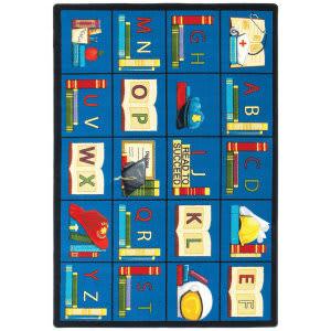 Joy Carpets Kid Essentials Sit And Read Multi Area Rug