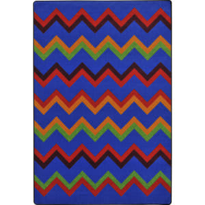 Joy Carpets Kid Essentials Sonic Primary Area Rug