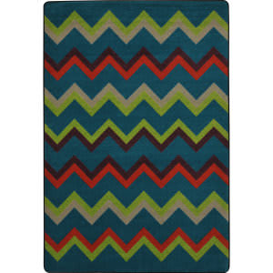 Joy Carpets Kid Essentials Sonic Tropics Area Rug