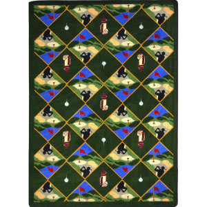 Joy Carpets Games People Play Spike N' Tee Multi Area Rug