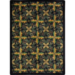 Joy Carpets Kaleidoscope Tahoe Black Area Rug