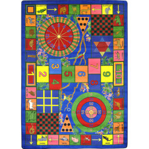 Joy Carpets Kid Essentials Teacher's Pet Multi Area Rug