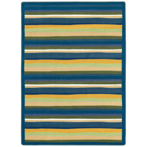 Joy Carpets Kid Essentials Yipes Stripes Bold Area Rug
