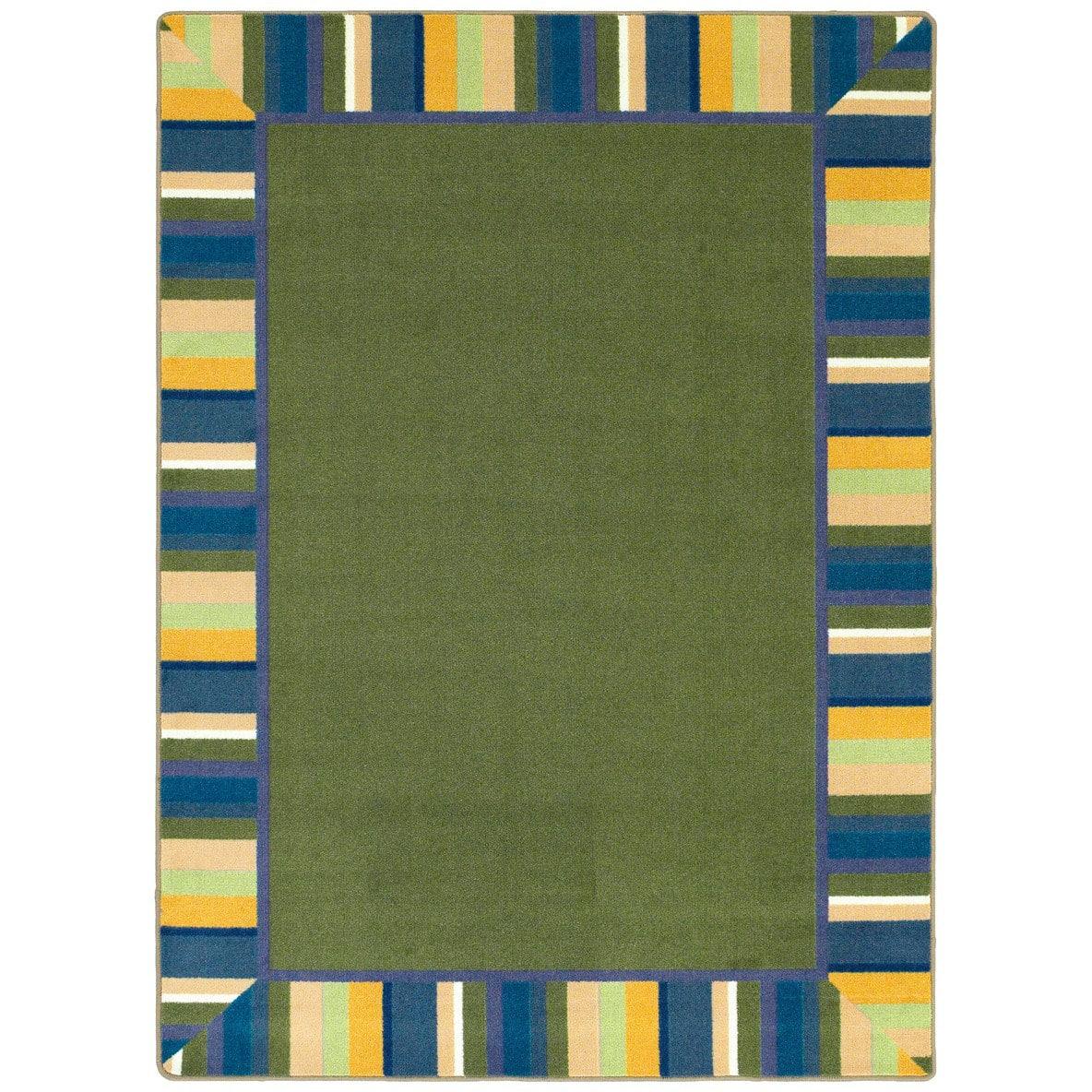 Picture of: Joy Carpets Kid Essentials Clean Green Bold Rug Studio