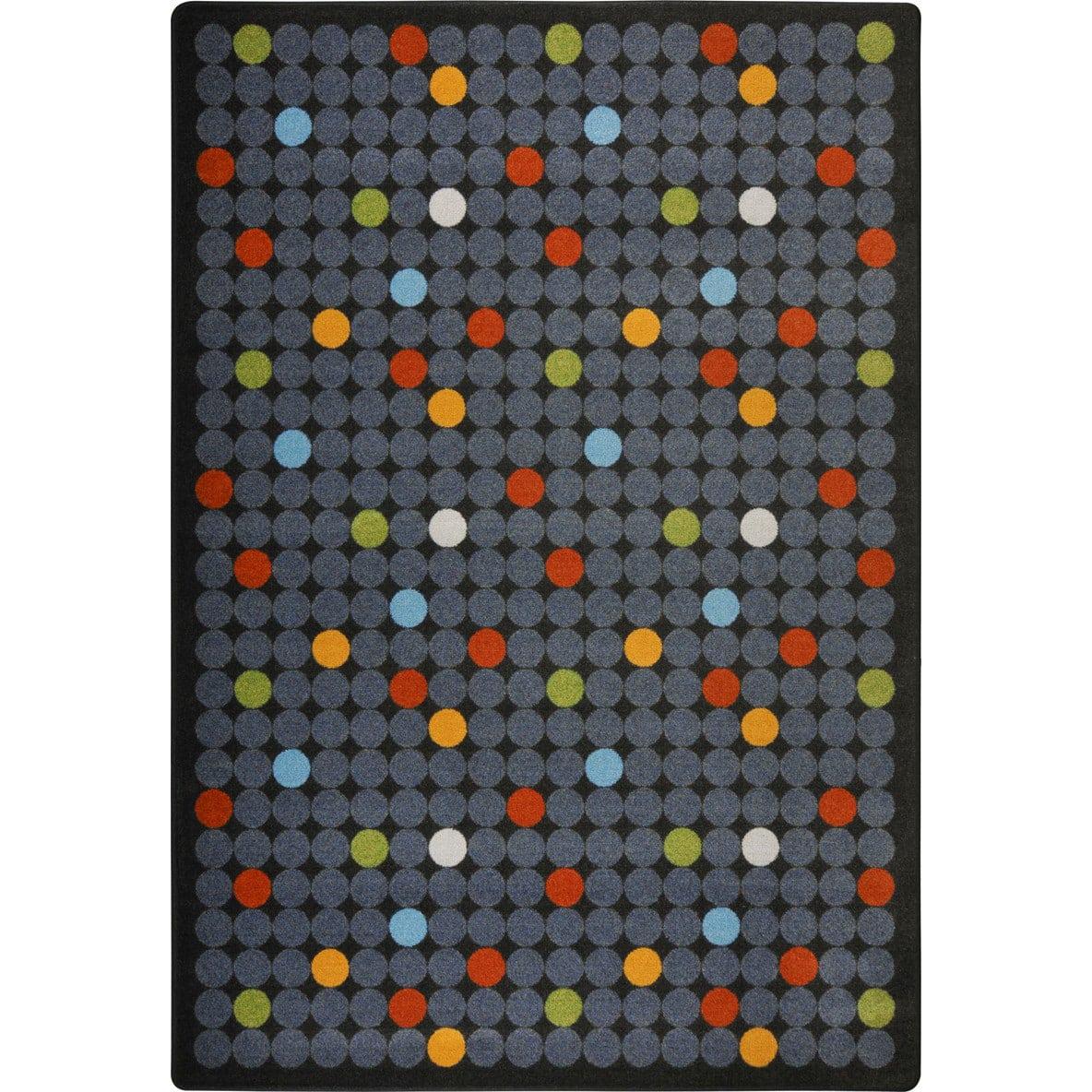 Joy Carpets Playful Patterns Spot On Licorice Rug Studio