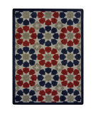 Joy Carpets Kaleidoscope Americana Multi Area Rug
