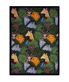 Joy Carpets Playful Patterns Animal Hide And Seek Multi Area Rug