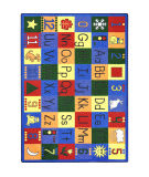 Joy Carpets Kid Essentials Around The Block Multi Area Rug