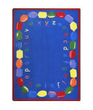 Joy Carpets Kid Essentials Baby Beads Multi Area Rug