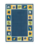 Joy Carpets Kid Essentials Baby Blues Bold Area Rug