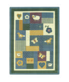 Joy Carpets Kid Essentials Baby Love Soft Area Rug