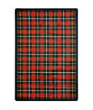 Joy Carpets Kaleidoscope Bit O' Scotch Lumberjack Red Area Rug