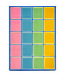 Joy Carpets Kid Essentials Blocks Abound Pastel Area Rug