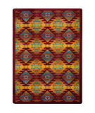 Joy Carpets Kaleidoscope Canyon Ridge Mesa Sunset Area Rug