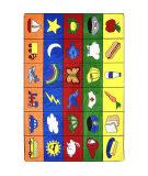 Joy Carpets Kid Essentials Categories Multi Area Rug
