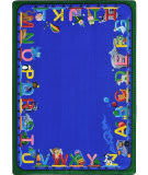 Joy Carpets Kid Essentials Choo Choo Letters N/A Area Rug
