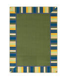 Joy Carpets Kid Essentials Clean Green Bold Area Rug