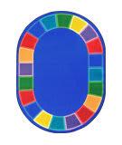 Joy Carpets Kid Essentials Color Tones Multi Area Rug