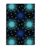 Joy Carpets Kaleidoscope Cosmopolitan Blue Area Rug
