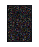 Joy Carpets Kaleidoscope Dots Aglow Multi Area Rug