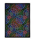 Joy Carpets Kid Essentials Dottie Colors Area Rug
