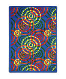 Joy Carpets Kid Essentials Dottie Rainbow Area Rug