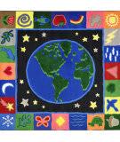 Joy Carpets Kid Essentials Earthworks Multi Area Rug