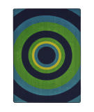 Joy Carpets Kid Essentials Fascinate Navy Area Rug