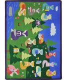 Joy Carpets Kid Essentials Foxy Readers Multi Area Rug